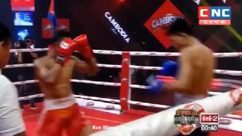 ឡុង សុភី ជាមួយ ភិតឧប៊ុន - Long Sophy Cambodia Vs Thai Phitoubun