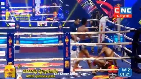 អេលីត សាន់ ជាមួយ កៅឆាត់ - Ehlit San Cambodia Vs Thai Kaochhat