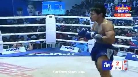 លាភ រដ្ឋា ជាមួយ នន់ថាវ៉ាត់ - Leap Rotha Cambodia Vs Thai Nuntawat
