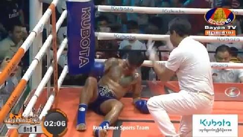 ផល សោភ័ណ្ឌ ជាមួយ ប្រាកាយផេត - Phal Sophorn Vs Thai Prakaypetch