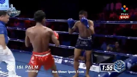ខាំ ខ្លានាង ជាមួយ ថៃ - Kham Klaneang Vs Thai Chaokhunthong