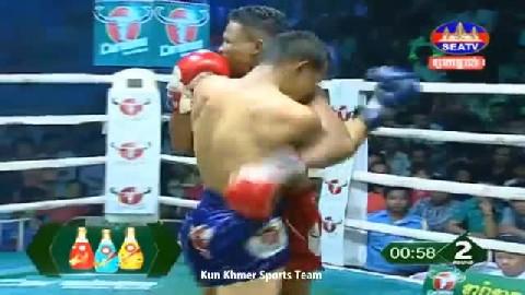 លី ភា ជាមួយ រីដា - Ly Phea Cambodia Vs Thai Reda