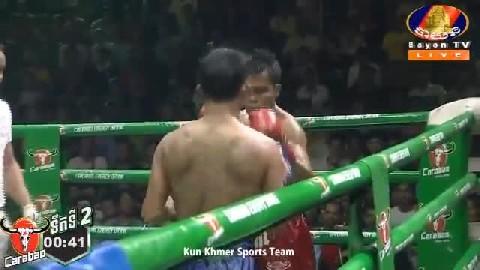 ចាន់ ស៊ីណាត Vs ថៃ Chan Sinath Vs Thai បានដាស័ក្តិ 14 July 2019 Kun Khmer