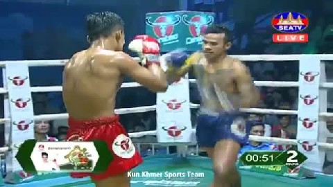 កូយ ឡាយ ជាមួយ ឆាង សឹក, Kouy Lay, Cambodia Vs Thai
