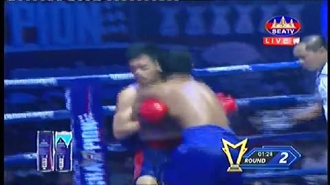 យ៉េន ឌីណា (កម្ពុជា) ជាមួយ (ថៃ) ភេត ស្រៀសាក់, Yen Dina, Cambodia Vs Thai, 28 July 2019