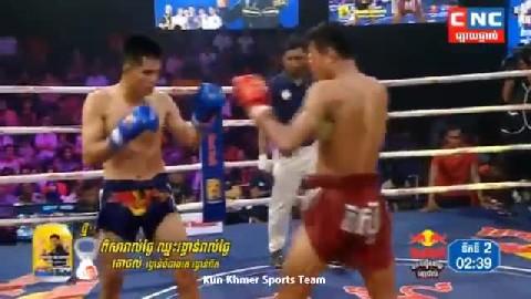 ឡុង សំណាង ជាមួយ ណាត់តាផុន, Long Samnang, Cambodia Vs Thai