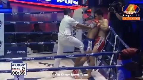 យ៉េន ឌីណា (កម្ពុជា) ជាមួយ (ថៃ) សែនឃុម, Yen Dina, Cambodia Vs Thai