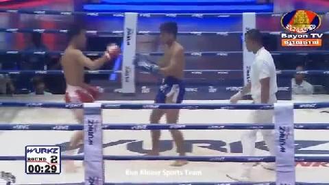 ចាន់ សុីណាត (កម្ពុជា) ជាមួយ (ថៃ) សុីផាណុម, Chan Sath, Cambodia Vs Thai