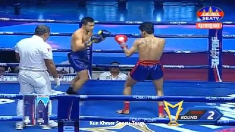 វ៉ាន់ វឿន (កម្ពុជា) ជាមួយ (ថៃ) កាំឡៃ យុគ, Van Voeun, Cambodia Vs Thai