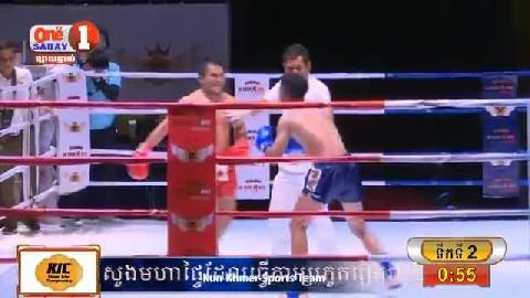 ម៉ន សាម៉េត (កម្ពុជា) ជាមួយ (ថៃ) ឡា ហ្វាន់, Morn Sameth, Cambodia Vs Thai