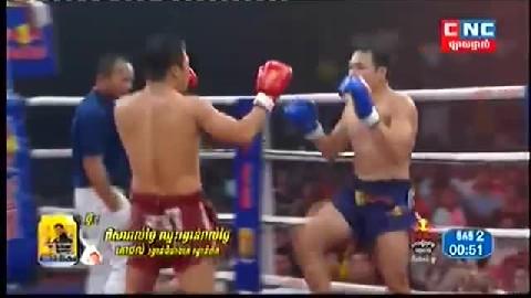 ផាន់ គ្រាន់ (កម្ពុជា) ជាមួយ (ថៃ) យ៉តធួនថង, Phan Kron, Cambodia Vs Thai
