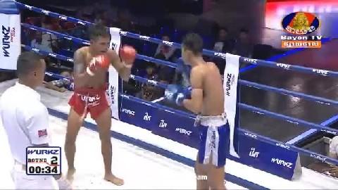 អ៊ូច ធារឹទ្ធ (កម្ពុជា) ជាមួយ (ថៃ) ក្រោះផេត, Ouch Thearith, Cambodia Vs Thai