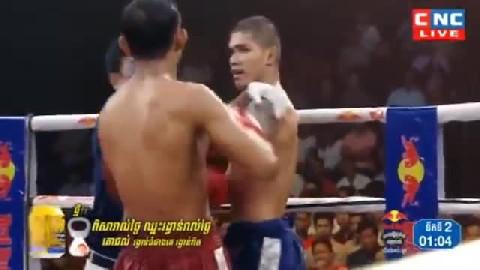 ឡុង សុភី (កម្ពុជា) ជាមួយ (ថៃ) រ៉េមបូ, Long Sophy, Cambodia Vs Thai