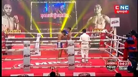 ឡុង សំណាង (កម្ពុជា) ជាមួយ (ថៃ) ចេកនួន, Long Samnang, Cambodia Vs Thai