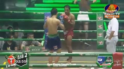 ឯម សុធី (កម្ពុជា) ជាមួយ (ថៃ) ផាយ៉ាក់ហិវ៉ាន់, Em Sothy, Cambodia Vs Thai
