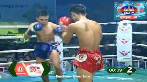 ឃីម បូរ៉ា (កម្ពុជា) ជាមួយ (ថៃ) ភេត ផូស៊ី, Khim Bora, Cambodia Vs Thai