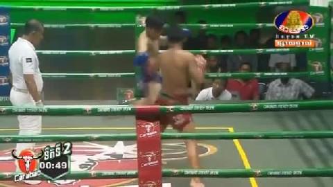 ចាន់ សុីណាត (កម្ពុជា) ជាមួយ (ថៃ) ឈូផេតសុិត, Chan Sinath, Cambodia Vs Thai