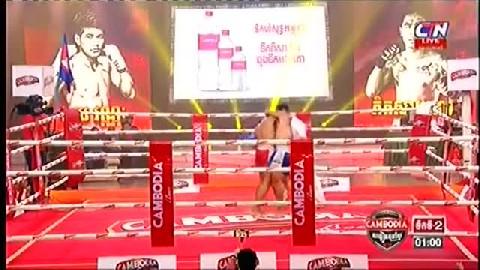 ពុយ វណ្ណៈ (កម្ពុជា) ជាមួយ (ថៃ) ភិតសាយហ្វា, Puy Vannak, Cambodia Vs Thai