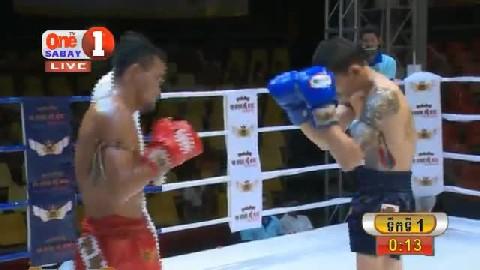 ម៉ន សាម៉េត កម្ពុជា ជាមួយ ថៃ ខាវក្រៈចាង, Morn Sameth, Cambodia Vs Thai
