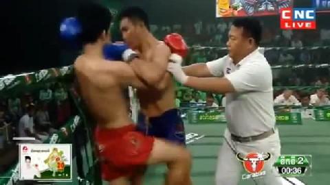 យ៉េន ឌីណា (កម្ពុជា) ជាមួយ (ថៃ) រុងណាផា, Yen Dina, Cambodia Vs Thai