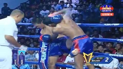 សូត្រ ប៊ុនធី (កម្ពុជា) ជាមួយ (ថៃ) កូឡាបដាំ, Chan Sinath, Cambodia Vs Thai