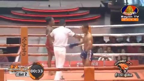 អ៊ូច ធារិទ្ធ (កម្ពុជា) ជាមួយ (ថៃ) ផេតឈុមផុន, Ouch Thearith, Cambodia Vs Thai