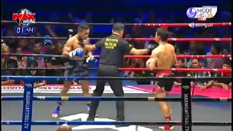 ចាន់ ណា (កម្ពុជា) ជាមួយ (ថៃ) ដាវដែន, Chan Na, Cambodia Vs Thai
