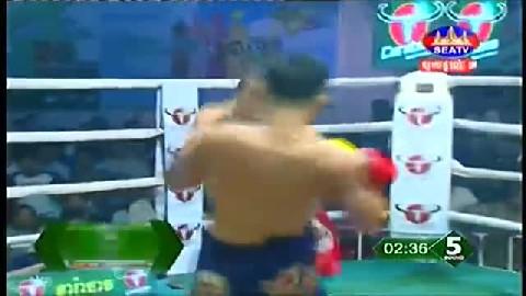 លាភ រដ្ឋា (កម្ពុជា) ជាមួយ (ថៃ) កាំឡៃ យុគ, Leap Rotha, Cambodia Vs Thai