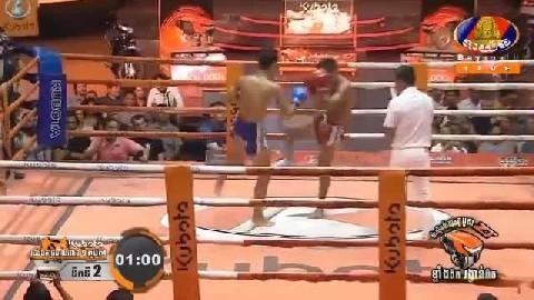 អ៊ូច ធារិទ្ធ(កម្ពុជា) ជាមួយ (ថៃ)ក្រោះផេត Ouch Thearith Cambodia Vs Thai