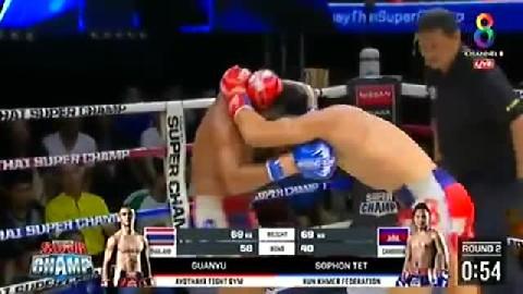 រឿង សោភ័ណ្ឌ (កម្ពុជា) ជាមួយ (ថៃ) គួនអ៊ូ, Roeung Sophorn, Cambodia Vs Thai