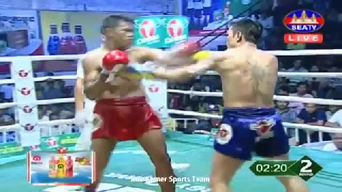 សេង ស្រឿន ជាមួយ វ៉ាន់ឆាឡើម, Seng Sroeun Vs Thai