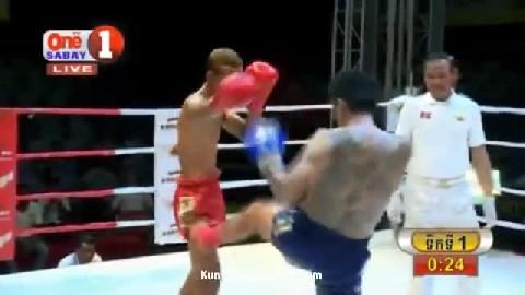 អេលីត ចំរើន ជាមួយ នុង ថាវ៉ាត់, Elite Chamroeun, Cambodia Vs Thai