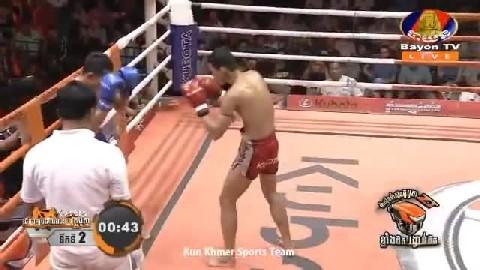 ប៊ុន សុធា (កម្ពុជា) ជាមួយ (ថៃ) ស្ថានហ្វា Bun Sothea Cambodia Vs Thai