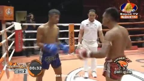 អ៊ូច ធារិទ្ធ (កម្ពុជា) ជាមួយ (ថៃ) ផុបរ៉ាក់ Ouch Thearith Cambodia Vs Thai