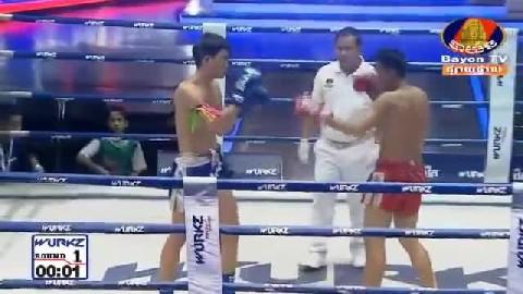 ចាន់ ស៊ីណាត (កម្ពុជា) ជាមួយ ថានណាន់ឆ័យ (ថៃ) -Chan Sinath vs Thai