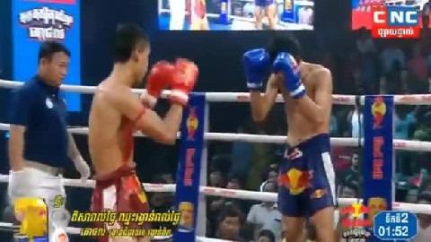 ឌុម កែវដា (កម្ពុជា) ជាមួយ ផេតសសុម៉ាត (ថៃ) Dom KeoDa VS Thai