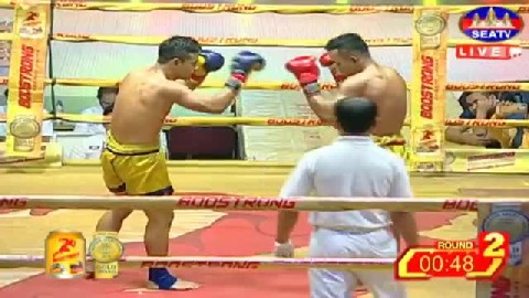 ម៉ន សាម៉េត (កម្ពុជា) ជាមួយ កាំឡៃយុគ (ថៃ) Morn Sameth Vs Thai