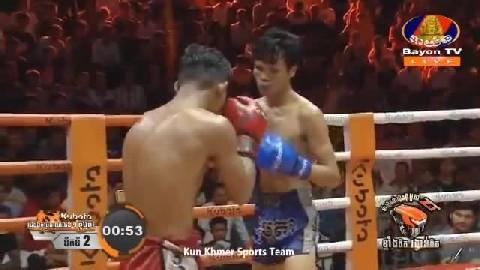 សុខ ធី (កម្ពុជា)  ជាមួយ ឌីសផ្លឺនជីត (ថៃ) Sok Thy Vs Thai 22