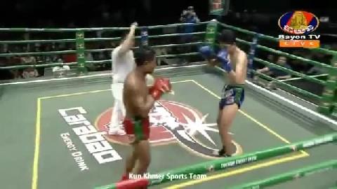 ឯម ឡេងលី (កម្ពុជា) vs (ថៃ) ក្វាន់អេក, Em Lengly, Cambodia Vs Thai
