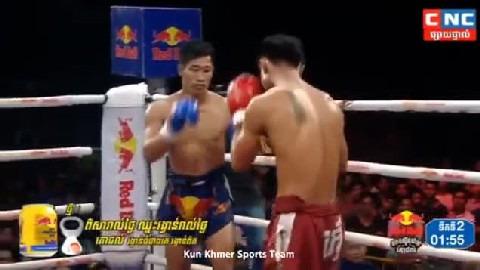 ឃីម បូរ៉ា (កម្ពុជា) ជាមួយ ភិតសាយឈុន (ថៃ), Khim Bora Vs Thai