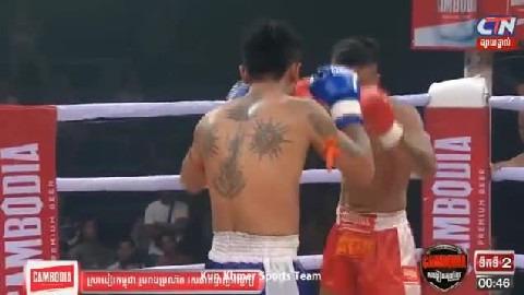 មឿន សុខហ៊ុច (កម្ពុជា) ជាមួយ ភិតសាយហ្វា (ថៃ), Moeun Sokhuch Vs Thai