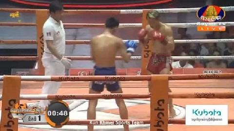 គង់ សំបូរ (កម្ពុជា) ជាមួយ ហ្វាសាំង (ថៃ), Kong Sambo Vs Thai