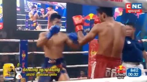 ធឿន ធារ៉ា (កម្ពុជា) ជាមួយ (ថៃ) ផ្លាំងនុម, Thoeun Theara, Cambodia Vs Thai