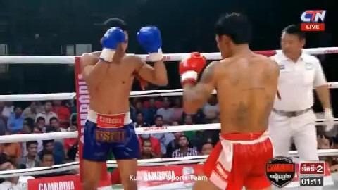 សេក គីមរួន (កម្ពុជា) ជាមួយ រឹទ្ធអៃរ៉ា (ថៃ), Sek Kimroun Vs Thai