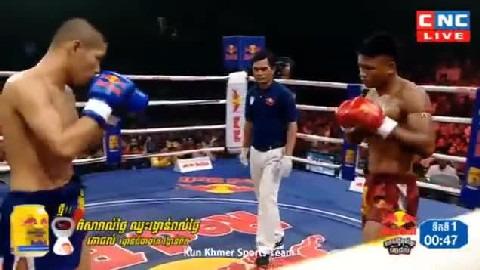 មឿន សុខហ៊ុច (កម្ពុជា) ជាមួយ (ថៃ) ហ្វាសុីថង, Moeun Sok Huch Vs Thai