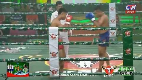 ឃីម បូរ៉ា (កម្ពុជា) ជាមួយ  (ថៃ) ភីតដាំ, Khim Bora Vs Thai