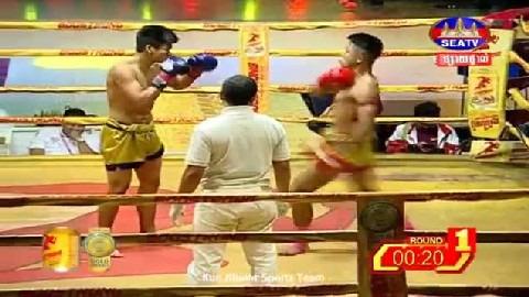 ឈុត សេរីវ៉ាន់ថង (កម្ពុជា) ជាមួយ (ថៃ) ថានូងិន, Chhut Sereyvan Thong Vs Thai