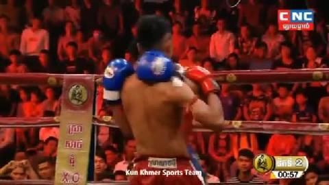 ឈុត សេរីវ៉ាន់ថង (កម្ពុជា) ជាមួយ (ថៃ) ភីតសាយឈុន, Chhut Serey Vanthong Vs Thai