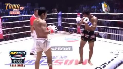 ពេជ្រ ម្ទេសខ្មាំង (កម្ពុជា) ជាមួយ (ថៃ) ផាធីប, Pich Mtes Khmang Vs Thai