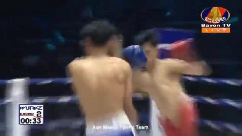 យ៉េន ឌីណា (កម្ពុជា) ជាមួយ (ថៃ) ផេតខាន់ថុង, Yen Dina Vs Thai